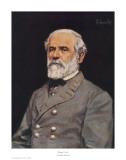 Robert E. Lee Poster par Bradley Schmehl
