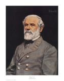 Robert E. Lee Poster by Bradley Schmehl