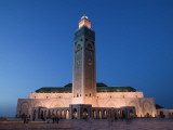 Hassan Ii Mosque, Casablanca:, Morocco Photographic Print by Walter Bibikow