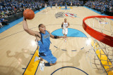Dallas Mavericks v Oklahoma City Thunder - Game Three, Oklahoma City, OK - MAY 21: Shawn Marion, Ja Lámina fotográfica por Joe Murphy
