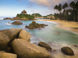 Colombia, Magdalena, Park Nacional Natural Tayrona, El Cabo, Beach Photographic Print by Jane Sweeney