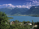 Lac D'Annecy, Savoie, Rhone Alps, France Photographic Print by Gavin Hellier