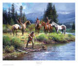 The River's Gift Posters by Martin Grelle