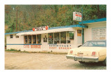 Bonnie & Clyde Drive-In, Roadside Retro Prints