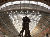 St. Pancras Station, London, England Photographic Print by Jon Arnold