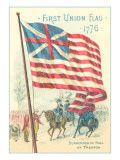 First Union Flag, 1776 Prints