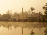 Wat Chong Kham, Mae Hong Son, Golden Triangle, Thailand Photographic Print by Steve Vidler
