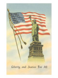Liberty and Justice for All Posters