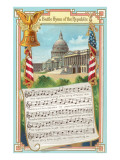 Music to Battle Hymn of the Republic Posters