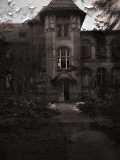 Spooky Hospital Photographic Print by Nathan Wright