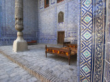 Interior of Tosh-Khovli Palace, Khiva, Uzbekistan Photographic Print by Ian Trower
