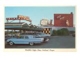 Waddle's Drive-In, Roadside Retro Art