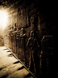 Tunnels at the Temple of Dendera, Egypt Photographic Print by Clive Nolan