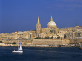 City Skyline, Valetta, Malta Photographic Print by Steve Vidler
