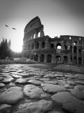 Colosseum and Via Sacra, Rome, Italy Fotografie-Druck von Michele Falzone