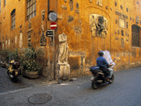Scooter in Street, Rome, Italy Photographic Print by Demetrio Carrasco