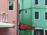 Houses with Coloured Facades, Burano, Venice, Veneto, Itlaly Photographic Print by Ivan Vdovin