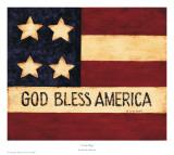 4 Star Flag Poster by Patrick DeSantis
