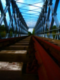 Rail Bridge Photographic Print by Nathan Wright