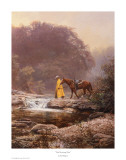 Pale Morning Mist Print by Bob Wygant