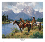Signs Along The Snake Posters by Martin Grelle