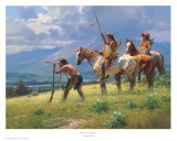 Dust In The Distance Poster by Martin Grelle