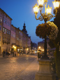 Market Square (Ploscha Rynok) at Dusk, Lviv, UKraine Photographic Print by Ian Trower