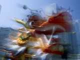 Chinese New Year / Dragon Dance, Hong Kong, China Photographic Print by Steve Vidler