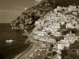 Village of Positano, Amalfi Coast, Campania, Italy Photographic Print by Steve Vidler