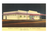 Sammy's Restaurant, Louisiana, Roadside Retro Poster