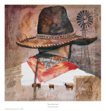 Man Of The Land Prints by Linda Loeschen