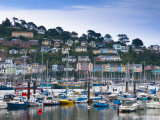 UK, Devon, Kingswear from Dartmouth, River Dart Photographic Print by Alan Copson