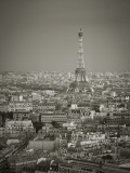 Eiffel Tower and Skyline of Paris, France Photographic Print by Jon Arnold