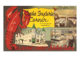 Cossie Snyder's Corner, Lobster Center, Retro Posters