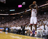Dallas Mavericks v Miami Heat - Game One, Miami, FL - MAY 31: LeBron James Photographic Print by Ronald Martinez