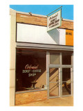 Colonial Donut and Coffee Shop, Store Front Prints