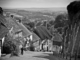UK, England, Dorset, Shaftesbury, Gold Hill Photographic Print by Alan Copson
