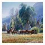 Back From the River Prints by Martin Grelle