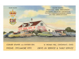 Silver Springs Drive-In, Roadside Retro Prints
