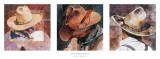 Hats Portrait II Posters by Linda Loeschen