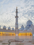 United Arab Emirates (UAE), Abu Dhabi, Sheikh Zayed Bin Sultan Al Nahyan Mosque Photographic Print by Gavin Hellier