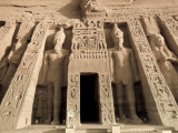 Egypt, Abu Simbel, Temple of Nefertari and Hathor Photographic Print by Michele Falzone