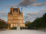 Jardin Du Tuileries and Musee Du Louvre, Paris, France Photographic Print by Jon Arnold