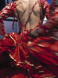 Flamenco Dancer, Seville, Andalucia, Spain Fotografie-Druck von Peter Adams