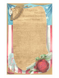 The Declaration of Independence Print