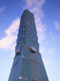 Taiwan, Taipei, Taipei 101 Skyscraper (1667 Feet) Photographic Print by Steve Vidler