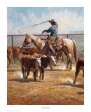 In the Texas Dust Posters by Martin Grelle