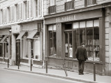 Bookshop, St. Germain Des Pres District, Rive Guache, Paris, France Photographic Print by Jon Arnold