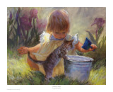 Gardener's Helper Prints by Susan Blackwood