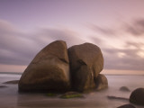 Colombia, Magdalena, Park Nacional Natural Tayrona, Arrecifes, Rocks in the Sea Photographic Print by Jane Sweeney